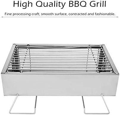 HONGLONG Mini Grill, Griglia A Carbone, Portatile Piccolo Barbecue, Pieghevole, per Il Barbecue All'aperto, La Cucina, PIC-Nic, Festa