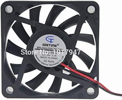 5PCS LOT Gdstime DC 24V 2P 6010S 6CM 60mm x 10mm Cooler Cooling Fan