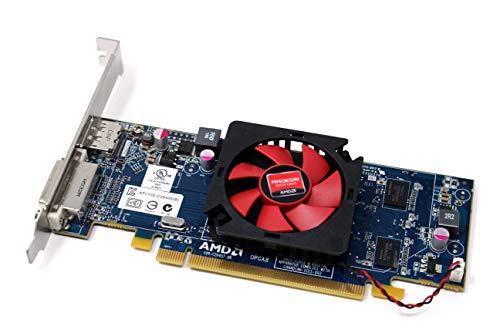 AMD Radeon HD6450 1GB PCI-e Full Height Video Graphics Card 1 DVI +1 Display Port(DP) for MT Tower Cases Fits Dell 03173K 3173K 2C7NH 02C7NH HD 6450 ATI-102-c26405(B)