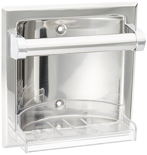 - Moen 2565CH Donner Commercial Soap Holder, Chrome