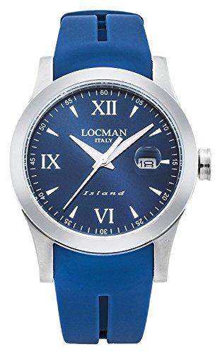 LOCMAN watch ISLAND 0614A02-00BLWHSB Men's
