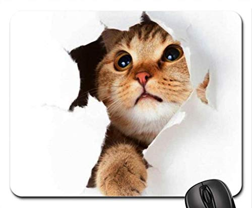 Kitty Mouse Pad, Mousepad (Cats Mouse Pad) -
