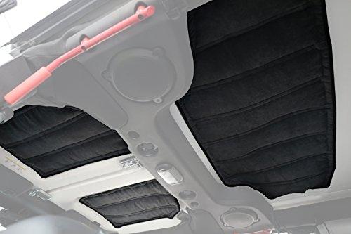 Hooke Road Hardtop Sound Deadener Insulation Kit for 2011-2018 Jeep Wrangler JK Unlimited 4-Door by Hooke Road