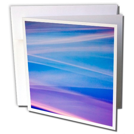Missoula 1 Light (Danita Delimont - Abstract - Light painting abstract color trails - 1 Greeting Card with envelope)