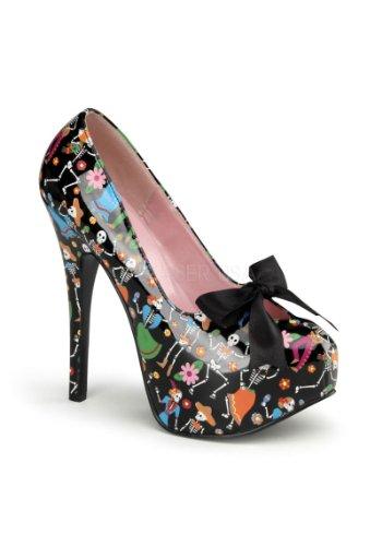 Pinup Couture Teeze-12-4 - sexy zapatos de tacón alto mujer plataforma - tamaño 36-42, US-Damen:EU-37 / US-7 / UK-4