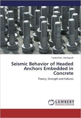 Seismic Behavior of Headed Anchors Embedded in Concrete: