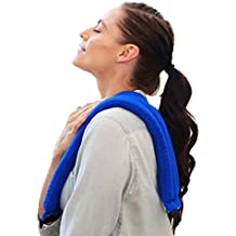My Heating Pad- Multi Purpose Wrap - Microwavable & Reusable Natural Heat Therapy - Neck Pain Relief (Blue)