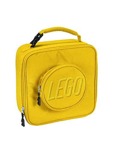 LEGO Kids Brick Lunch Backpack, Yellow, One Size