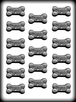 Plastic Dog Mold (Mini Dog Bones Sucker Hard Candy Mold HS-11294)
