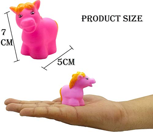 SaleON 12 Pcs Mix Cute Animals Swimming Water Toys Non-Toxic , BPA Free Colorful Soft Rubber Float Squeeze Sound Squeaky Bathing Toy for Baby Bath Toys Chu Chu Toy Set (1216)