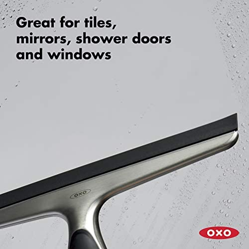 Amazon Com Oxo Good Grips Stainless Steel Squeegee 10 X 1 5 X 6 Inches Home Kitchen