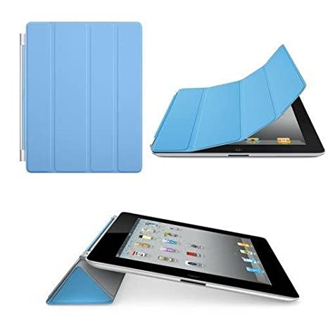 best website 689c0 8994f Magnetic Protective Flip Smart Cover Skin Case Stand for iPad 2 3 4 - Blue