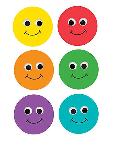 Outs Face Smiley (Hygloss Products Happy Multi-Color Smiley Face Classroom Accents – Creative Teaching Resources – 6 Inches, 30 Pack)