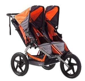 BOB Sport Utility Dualie Stroller - Orange