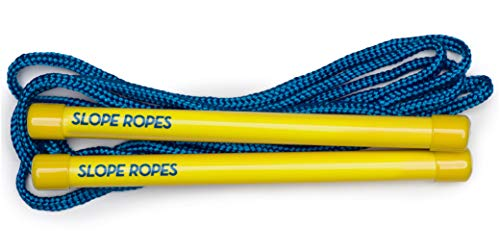 Slope Ropes Kids Ski Trainer | The Easiest Way Kids Learn to Ski. (Yellow/Blue) (Line Ski Backpack)