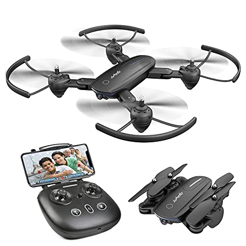 Zuhafa Drone T4 WiFi FPV RC with 1080P HD Camera for Kids and Adults, for Beginners-Altitude Hold Mode, RTF One Key Take…