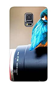 Ellent Galaxy S5 Case Tpu Cover Back Skin Protector Birds Cameras Depth Of Field For Lovers' Gifts