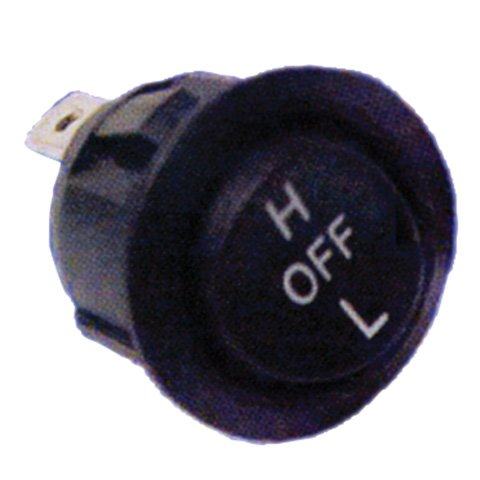 SEALED HIGH LOW OFF ROCKER SWITCH, Manufacturer: SYMTEC, Manufacturer Part Number: 300006-AD, Stock Photo - Actual parts may (Switch Manufacturer Part Number)