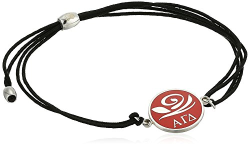 Alex and Ani Kindred Cord, Alpha Gamma Delta, Sterling Silver Bracelet