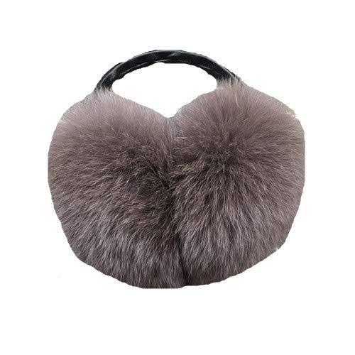 Women Winter Warm Fox Earlap Ultralarge Imitation Plush Ear Muff