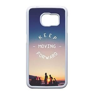 Samsung Galaxy S6 Edge Cell Phone Case , Pure and fresh Theme Custom Phone Case