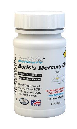 Industrial Test Systems 480049 Sensafe Boriss Mercury Test