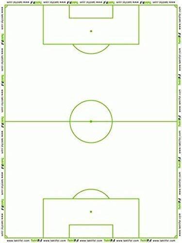 Taktifol Fútbol - hojas tácticas para entrenadores - rollo con 25 hojas: Amazon.es: Deportes y aire libre