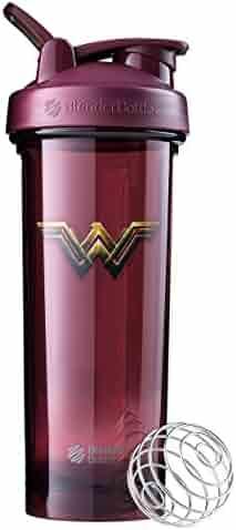 BlenderBottle Justice League Superhero Mixing Cups – Pro32 Ounce, Wonder Woman