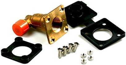 F/üllventil HK Flach W21,8 Winkel 90/° f/ür 8mm Kupferleitung LPG Autogas GPL