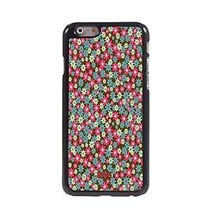 JAJAY Floret Design Aluminum Hard Case for iPhone 6 Plus