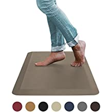 """Sky Mat, Comfort Anti Fatigue Mat, Perfect for Kitchens and Standing Desks, 20 x 39 x 3/4"""" (Brown) (5 Colors , 3 sizes)"""