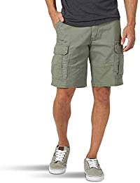 Authentics Men's Big & Tall Classic Relaxed Fit Stretch Cargo Short