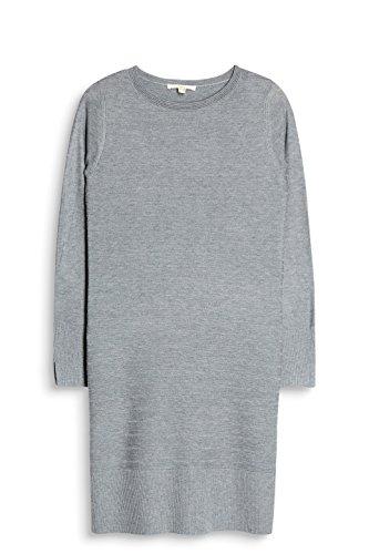 5 039 Grau Grey Kleid ESPRIT Medium Damen qxYgPK6wX