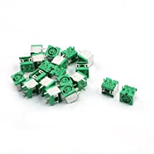 uxcell® 20pcs PS/2 6P Mini DIN Female PCB Mouse Keyboard Connector Green