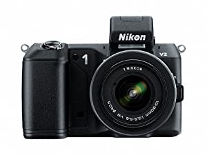 Nikon 1 V2 14.2 MP HD Digital Camera Body Only (Black)