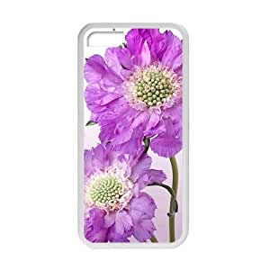 Personalized Creative Cell Phone Iphone 6 4.7Inch,glam purple flowers elegant design
