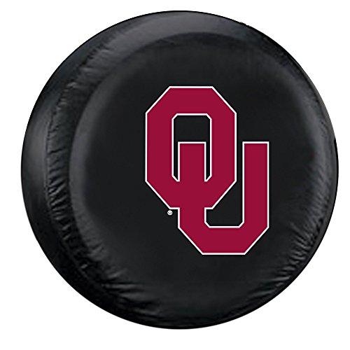 NCAA Oklahoma Sooners Tire Cover, Large, Black