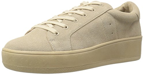 Steve Madden Womens Bertie Fashion Sneaker Sand Suede