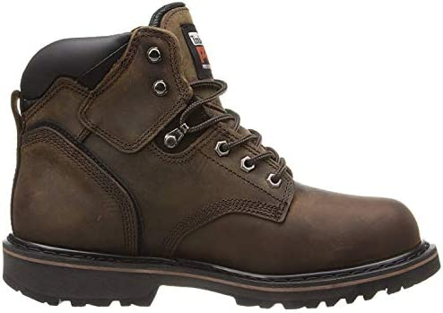 "Timberland PRO Men's 6"" Pitboss Steel-Toe Boot Shoes"