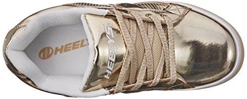 Heelys SPLIT Schuh 2015 gold chrome 33