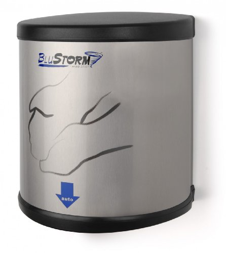 Blustorm Touchless High Speed Hand Dryer Voltage Type: 220/240