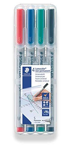 - Staedtler Universal pen Lumocolor non-p S 4 Piece (311 WP4)
