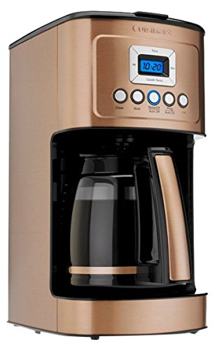 - Cuisinart DCC-3200CPAMZ PerfecTemp 14 Cup Programmable Coffeemaker - Copper