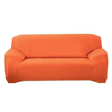 SSLBOO Pure Color Stretchy Slipcover Antiscivolo Sedia ...