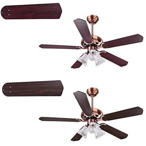 Travel Ceiling Fan : Yescom ″ blades ceiling fan with light kit antique