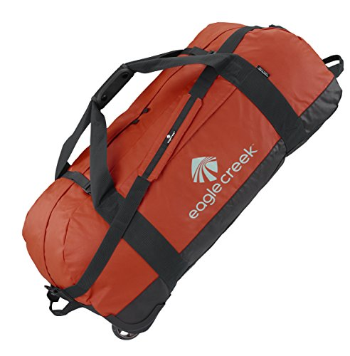 Eagle Creek Travel Gear No Matter What Flashpoint Rolling Duffel XL, Red Clay