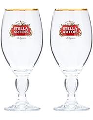 Perfect ... Beer Snob Barware Co. Stella Artois 2 Pack Original Glass Chalice, 33cl