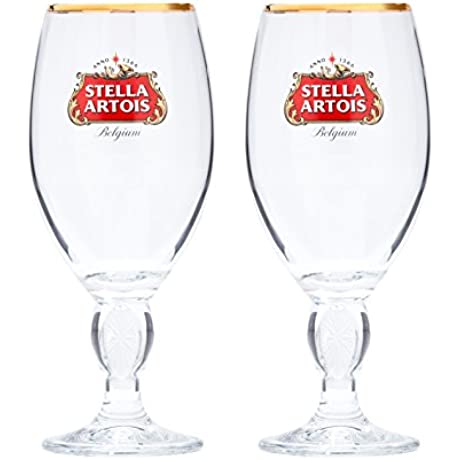 Stella Artois 2 Pack Original Glass Chalice 33cl