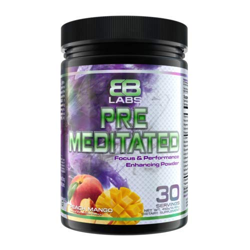 Evil s Bane Labs Pre Meditated Pre Workout Peach Mango