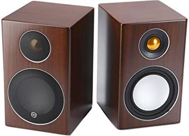 Monitor Audio Radius 90 Mini Bookshelf Speakers- Pair Walnut